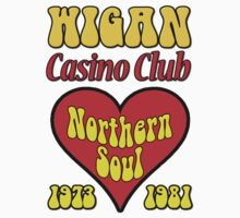 Wigan Casino Club Northern Soul Dancing One Piece - Long Sleeve