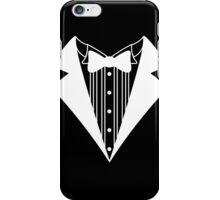 Funny T-Shirt Tuxedo Wedding Groom Tie Shirt Prom Tee Fake Tux Bachelor S - 5XL iPhone Case/Skin