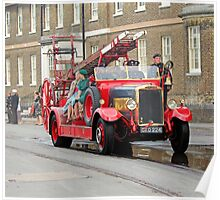 1931 Leyland fire engine Poster