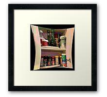 Spice Cabinet Framed Print