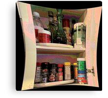 Spice Cabinet Canvas Print