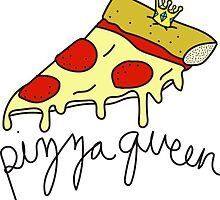 Pizza Queen ♥ Sassy/Trendy/Hipster/Tumblr Meme by Bratsy ♥