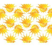 Sun Star Pattern Photographic Print