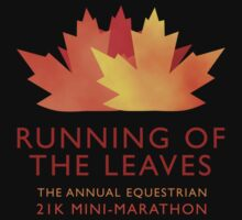 Running of the Leaves Kids Clothes
