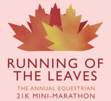 Running of the Leaves One Piece - Long Sleeve