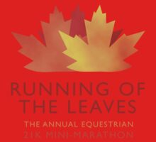 Running of the Leaves Kids Tee