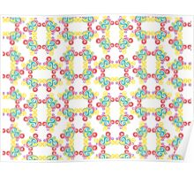 Swirly Frame Pattern Poster