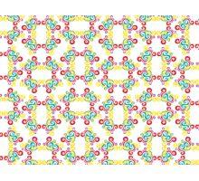 Swirly Frame Pattern Photographic Print