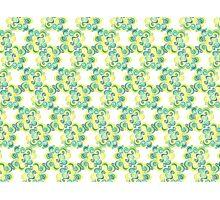 Swirly Emblem Pattern Photographic Print