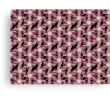 Swirly Gig Pattern Canvas Print