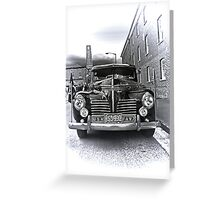 1940 Plymouth P9  US Navy Staff car Greeting Card