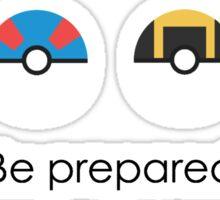 Be Prepared Sticker