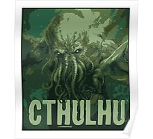 Cthulhu - our lord  Poster