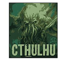 Cthulhu - our lord  Photographic Print