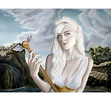 Helen of Troy Inspired Painting Photographic Print