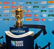 THE RUGBY WORLD CUP Sticker