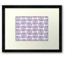 Swirlycule Pattern Framed Print