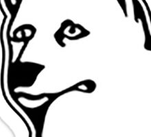 UCONN Doggos Sticker