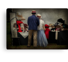 Store - The hat stand  Canvas Print
