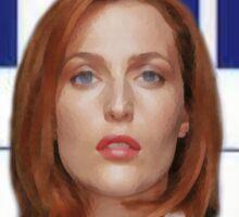 x-files - Scully FBI Sticker