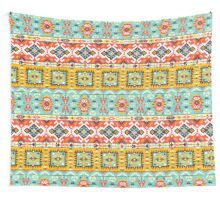 Aztec colorful fashion pattern Wall Tapestry