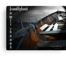 oar, kabe, humblyband Canvas Print