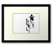 Lost in Space... Framed Print