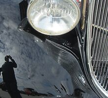 1923 Model T Reflections ~ I Give Up!!! by Debbie Robbins