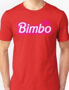 Bimbo in cute little dolly doll font Unisex T-Shirt