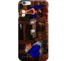 Drinking contest with Rum Rogers Jr (Monkey Island 2) iPhone Case/Skin