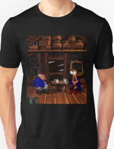 Drinking contest with Rum Rogers Jr (Monkey Island 2) T-Shirt