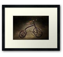 Bike - The Tricycle  Framed Print