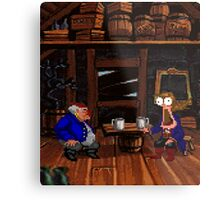 Drinking contest with Rum Rogers Jr (Monkey Island 2) Metal Print