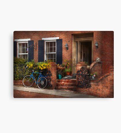 Bike - Waiting for a ride Canvas Print