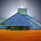 Rock and Roll Hall Of Fame - Cleveland, Ohio by Kenneth Krolikowski