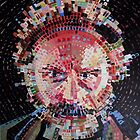 Chuck Close study by KatieEBligh