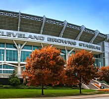 Cleveland Browns Stadium - Cleveland, Ohio by Kenneth Krolikowski