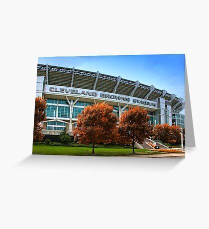 Cleveland Browns Stadium - Cleveland, Ohio Greeting Card