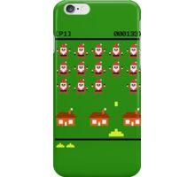 Santa Invasion iPhone Case/Skin