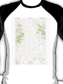 USGS Topo Map Oregon Wagontire Mtn East 281977 1980 24000 T-Shirt