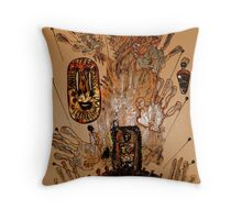 The Spirit of Survival Throw Pillow