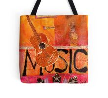 MUSIC Makes Me Wanna Dance Tote Bag
