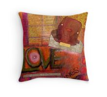 I Sing LOVE Songs Throw Pillow