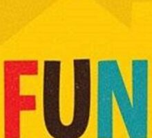 Fun Home Playbill Sticker