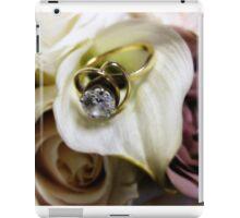 Wedding Ring iPad Case/Skin