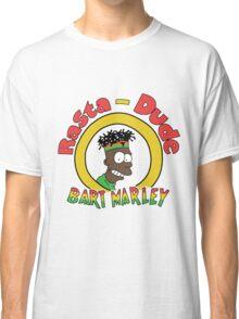 Rasta - Dude Bart Marley Classic T-Shirt