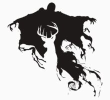 HP3 Dementor and Stag by Zoe Toseland