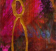 Magenta Joy Stands Alone by © Angela L Walker
