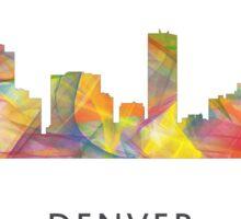 Denver, Colorado Skyline WB1 Sticker