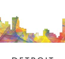 Detroit Michigan Skyline WB1 Sticker